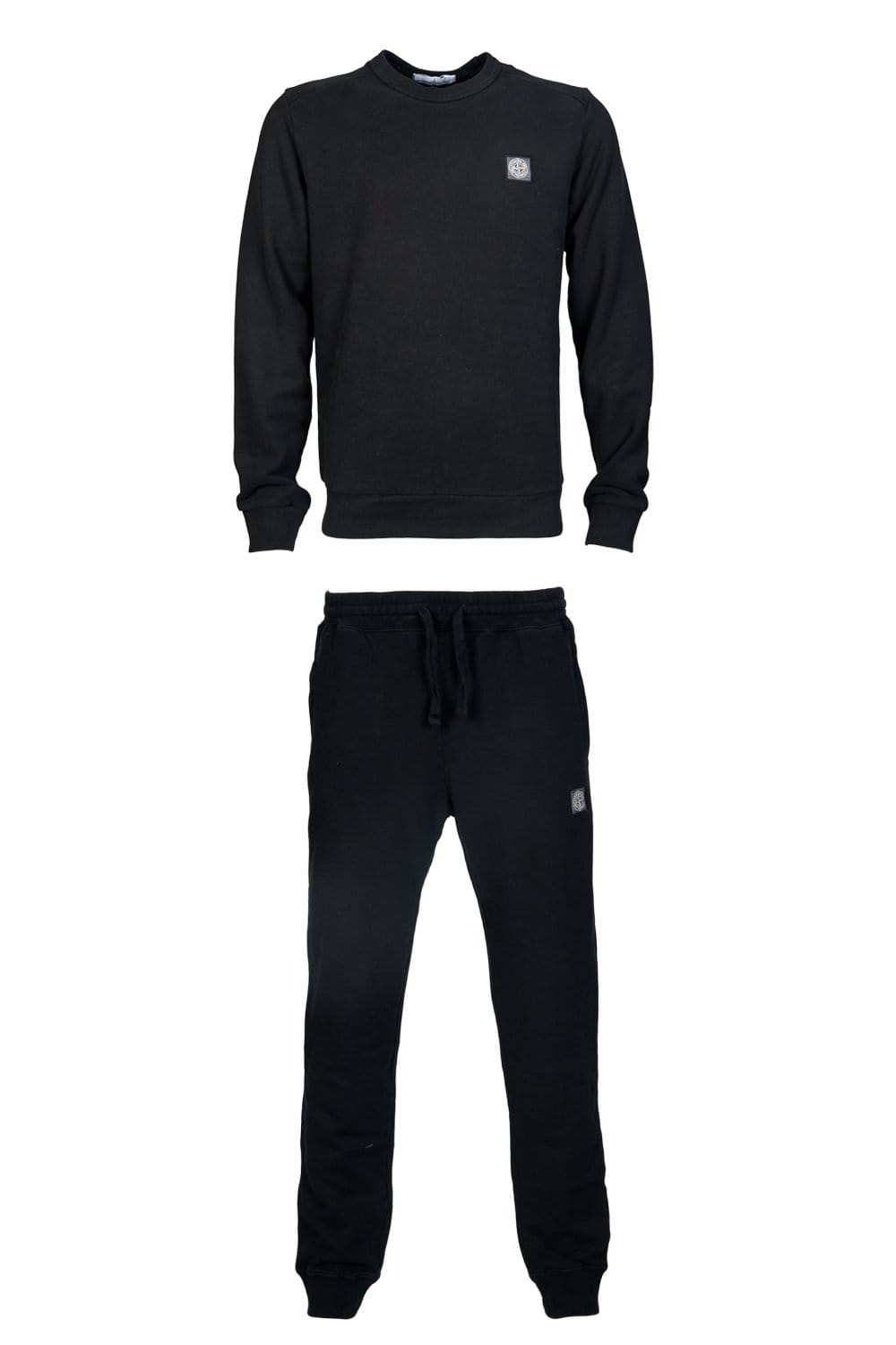 Stone Island Casual Tracksuit In Black Grey And Royal Blue 631562350 631563450 Clothing From