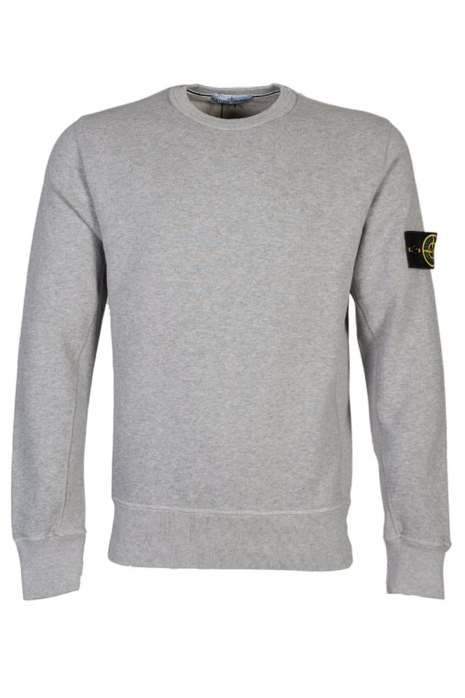 stone island crew neck sweat in black grey blue and red 591565320 clothing from sage clothing uk. Black Bedroom Furniture Sets. Home Design Ideas