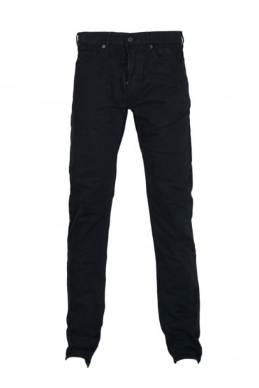 Stone Island Gabardine Jeans in Navy Blue, Black and Charcoal Grey 6115J4BXN