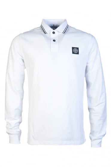 Stone Island Polo Top Long Sleeve 65152SS18