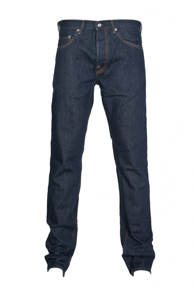 Regular Fit Denim Jeans in Indigo Blue 6115J4BI1