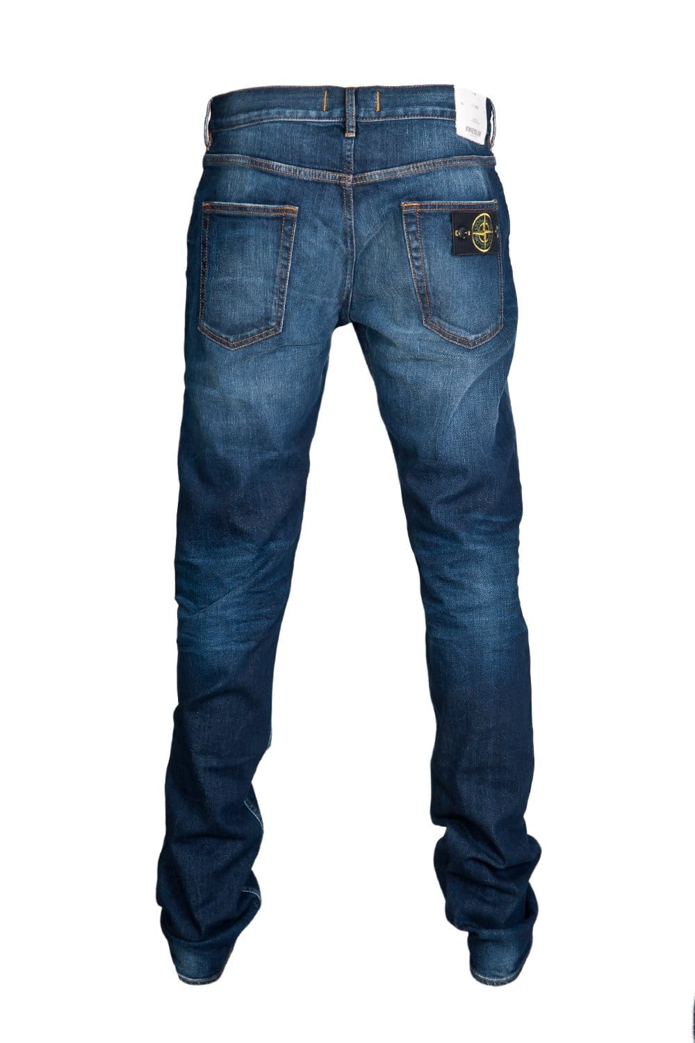 stone island regular fit denim jeans in indigo blue 6315j4bga stone island from sage clothing uk. Black Bedroom Furniture Sets. Home Design Ideas