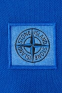 Stone Island Short Sleeve Polo Shirt in Black  White  Blue and Red 631522C15