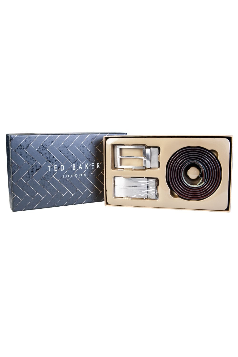 4c06931008bc Ted Baker Belt Reversible with 2 Buckles MXG-HOLLT - Accessories from Sage  Clothing UK
