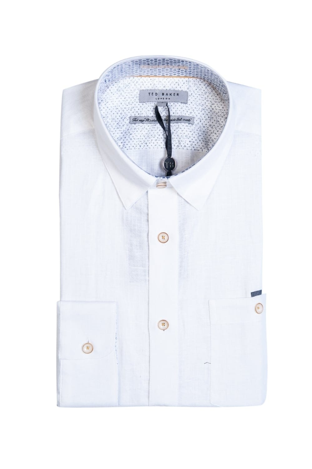 449b37355d795 Ted Baker Linen Shirt TS7M GA60 LAAVATO 99 - Clothing from Sage ...