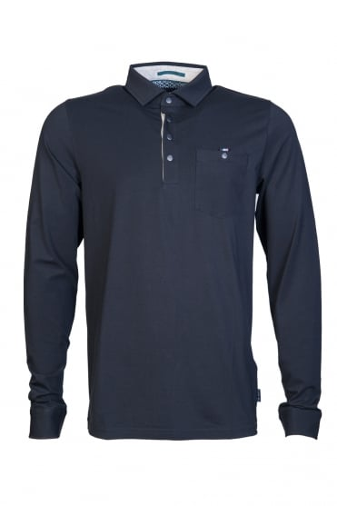 Ted Baker Polo Shirt Long Sleeve TA7M GB47 DENN