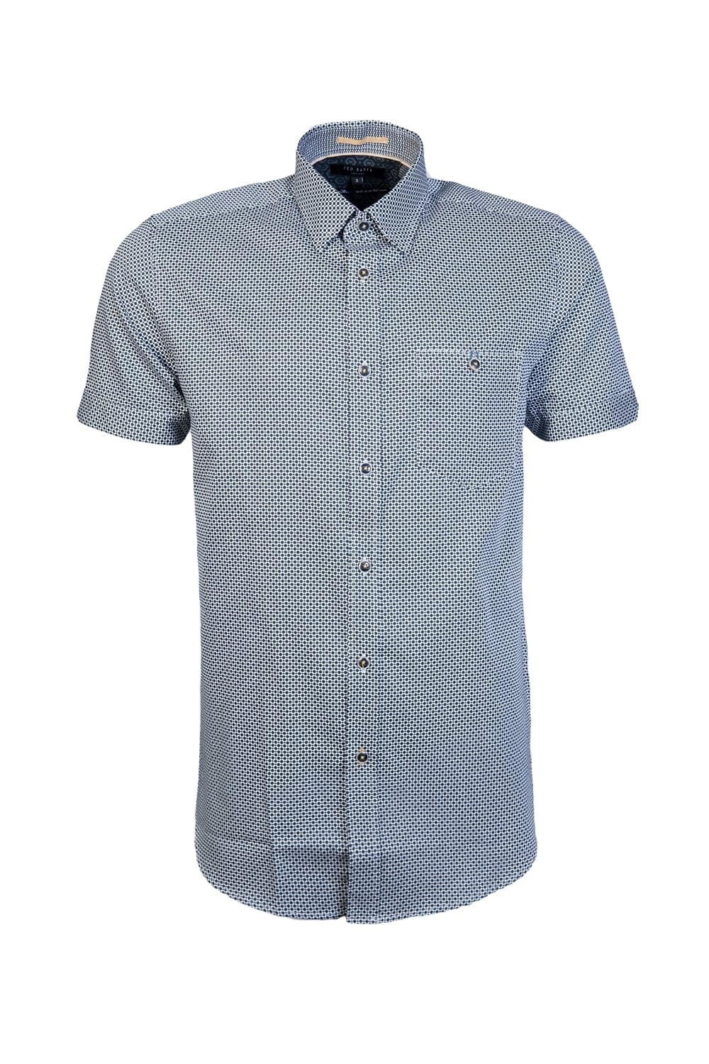 6db4068eaa6d9 Ted Baker Short Sleeve Shirt TS7M GA31 MUNKEE 10 - Clothing from ...