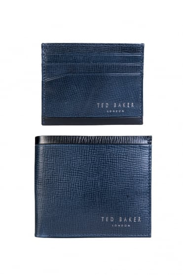 Ted Baker Wallet and Card Holder Gift Set DA7M GG62 CROSSY