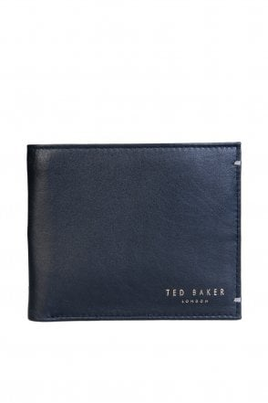 bdbad52fed7f43 Ted Baker Wallet Bifold with 4 Card Slots and 1 Coin Pocket X00M XW55 HARVYS