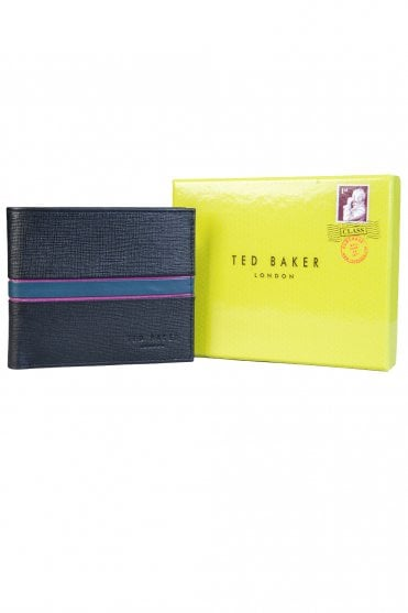 786efad1787831 Ted Baker Wallet Bifold with 8 Card Slots MXW MUSTA