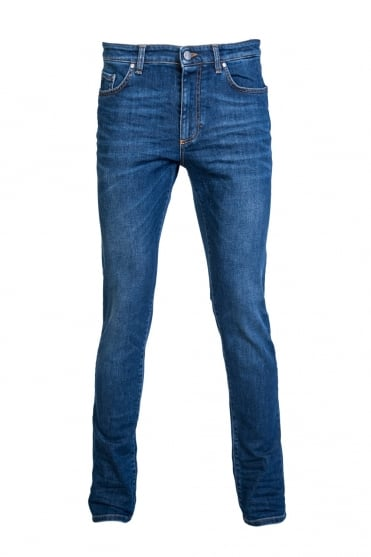 Versace Denim Jeans Slim Fit V600280A VT01394-V8021