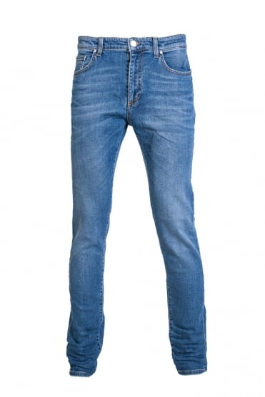 Versace Denim Jeans Slim Fit V600280A VT01395 V8047