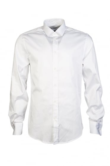 Versace Elegant Business Shirt in White V300013VT00024-V110