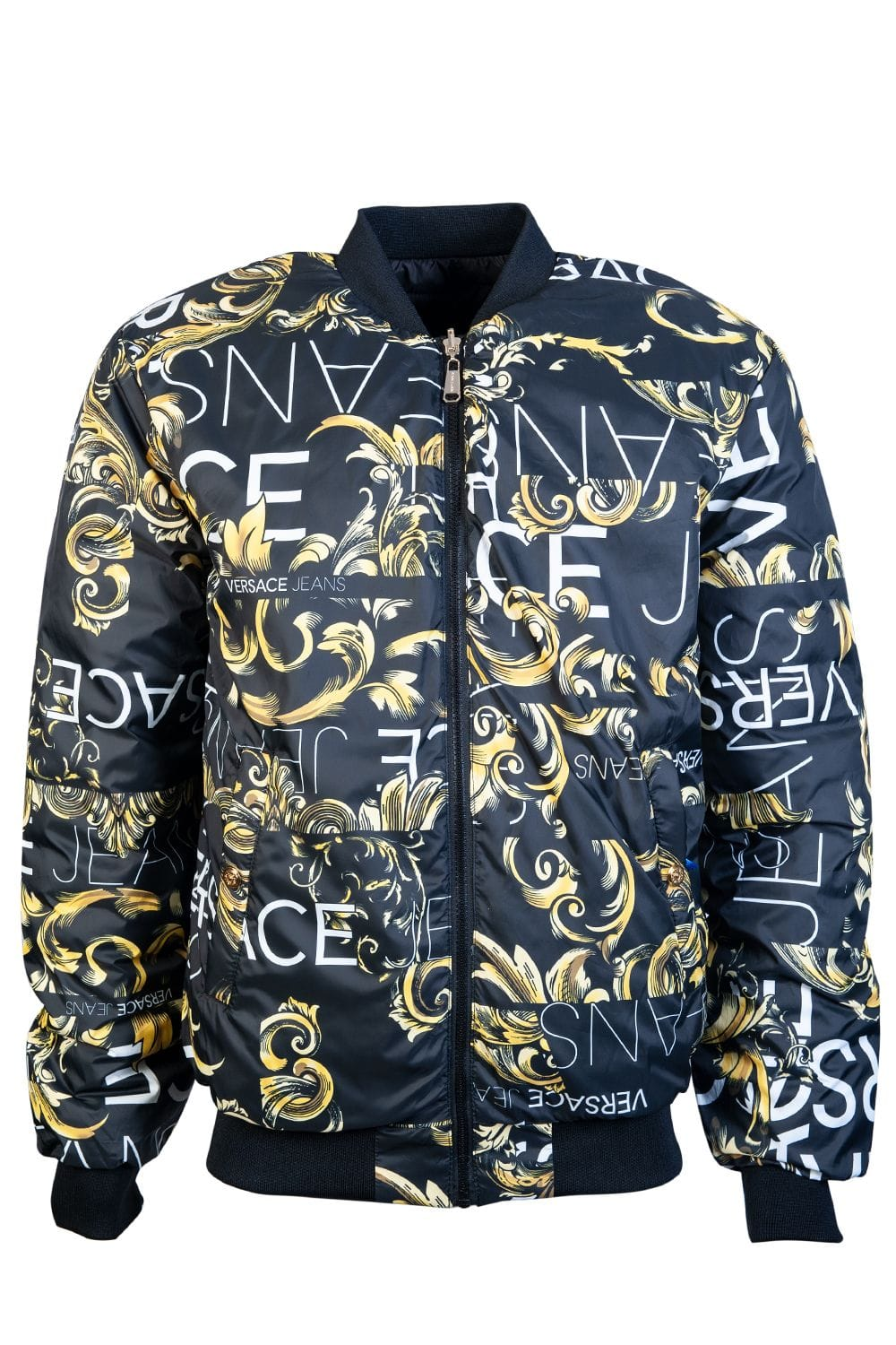 261c1a2acc Versace Jacket Reversible E5GTA903 25050 - Clothing from Sage Clothing UK