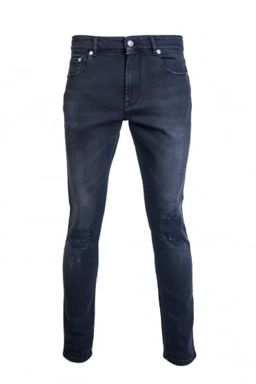 Versus Versace Denim Jeans Slim Fit BU40301 BT10507 B8008