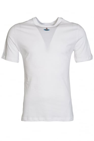 Vivienne Westwood Classic Round Neck Tee in White S25GC0269S22492-100