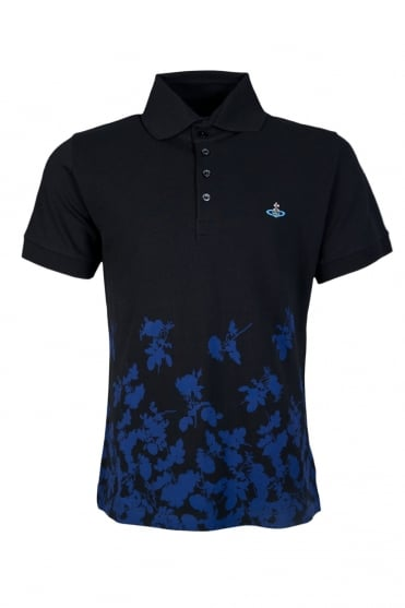 Vivienne Westwood Polo T-shirt in Navy S25GC0300S22712 002