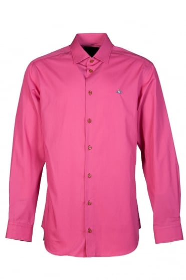 Vivienne Westwood Smart Shirt in Pink S25DL0238S35722 256